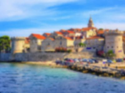 The island of Korcula